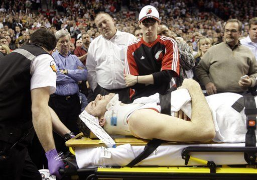 NBA: Trail Blazers 111, Lakers 94; Fernández sufre grave falta
