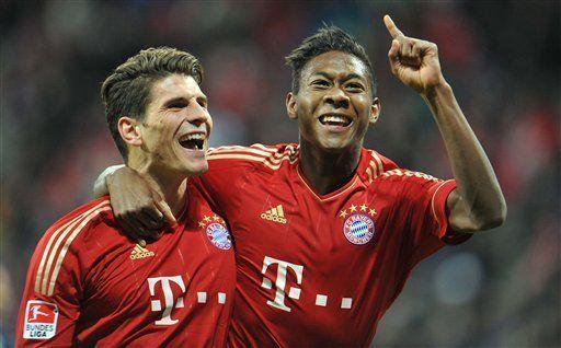 Bayern vence 3-0 a Colonia pese a roja a Ribery