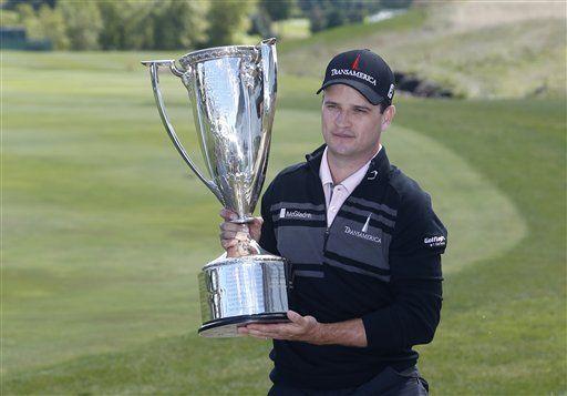 Zach Johnson gana torneo BMW con anotación de 65