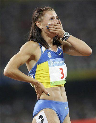 COI suspende temporalmente a atleta ucraniana Blonska