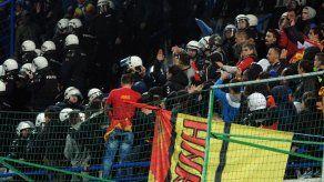 UEFA da victoria a Rusia tras incidentes en Montenegro