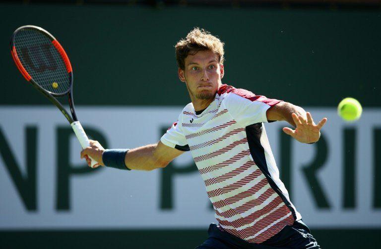 El español Carreño elimina al uruguayo Cuevas en Masters 1000 de Indian Wells
