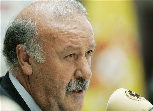 Del Bosque quiere continuar con el éxito de Aragonés en España