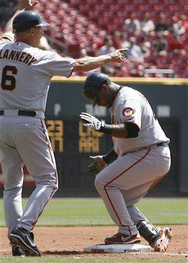 MLB: Rojos 9, Gigantes 3; Votto empuja 4