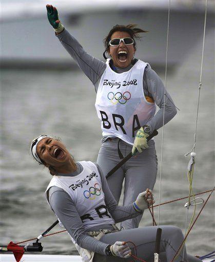 Australians acaparan el oro en vela, Brasil gana bronce