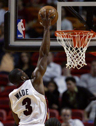 NBA: Heat 94, Grizzlies 82; Wade bate su propia marca