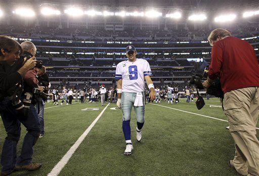 NFL: Romo se entrena con protección en la mano