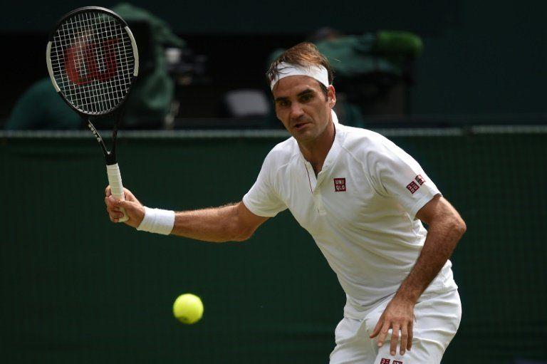 Federer supera a Mannarino y accede a cuartos en Wimbledon