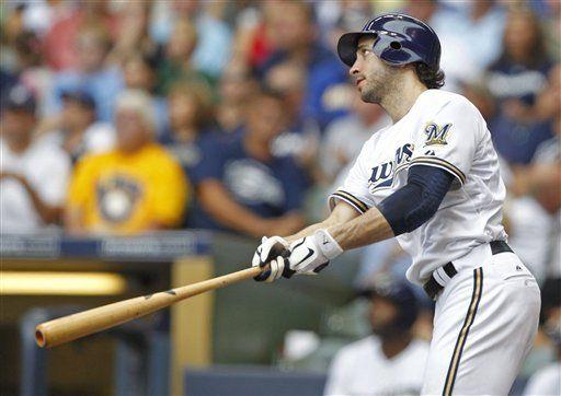 MLB: Cerveceros 4, Cachorros 2; jonrón de Braun