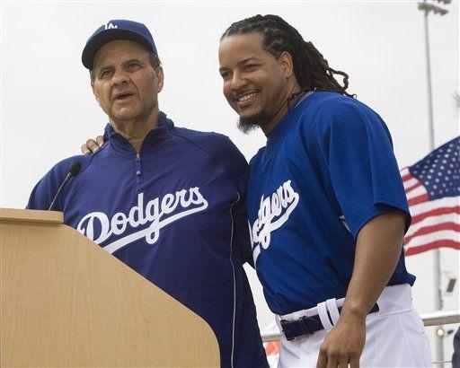 Dodgers fichan a Manny Ramírez por 2 años y 45 millones