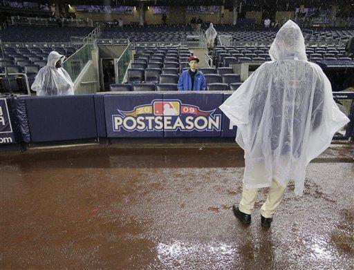 MLB: Postergan partido de Yanquis-Angelinos por lluvia