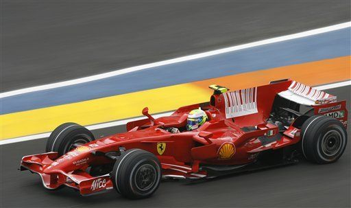 Felipe Massa partirá primero en el G.P. Europeo de F1