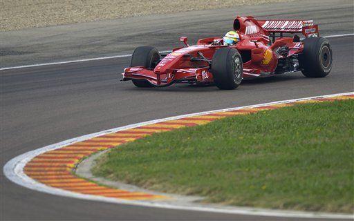 Massa realiza primera prueba en F1 desde su grave accidente