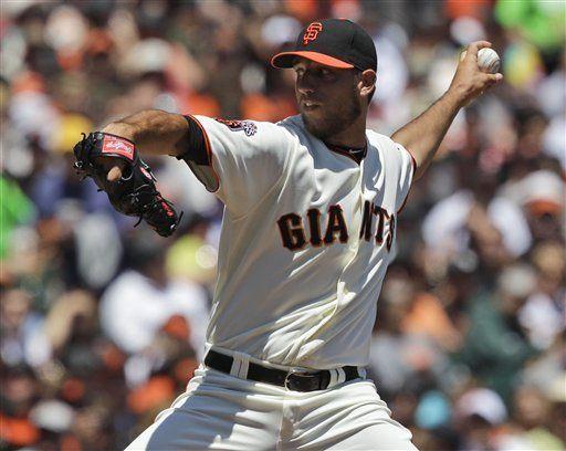 MLB: Gigantes 2, Cerveceros 1; Bumgarner gana tercero al hilo