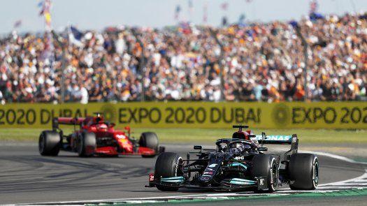 Lewis Hamilton se lleva el GP de Gran Bretaña, el 99º en su carrera de F1.