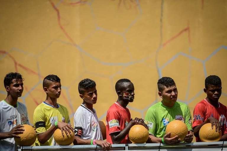 En Rio de Janeiro, el Mundial de niños de la calle da ejemplo a los mayores