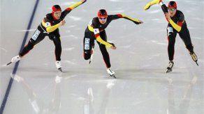 Invierno: Alemania gana medalla de oro en persecución