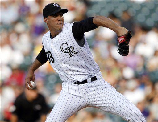 MLB: Rockies 10, Dodgers 1; Jiménez lanza primer juego completo