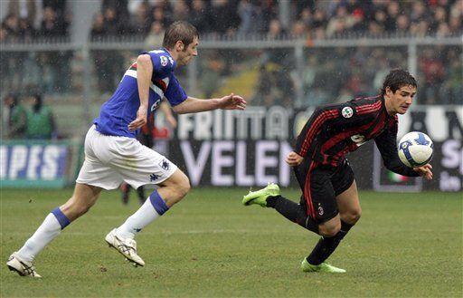 Italia: Milan cae ante Sampdoria y sigue de capa caída
