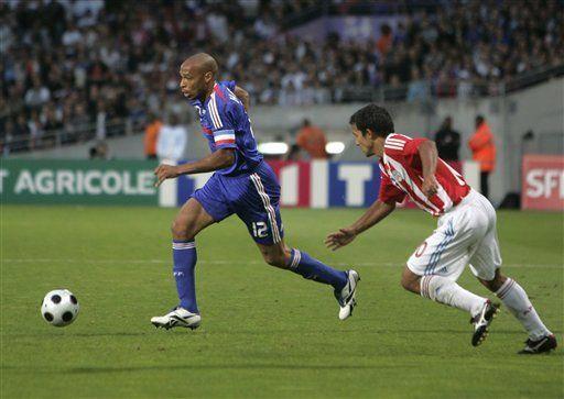 Francia y Paraguay empatan sin goles