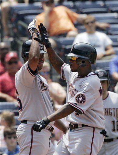 MLB: Nacionales 15, Bravos 6; Flores con 4 hits