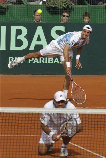 Davis: Argentina semifinalista; en ventaja Serbia y Francia