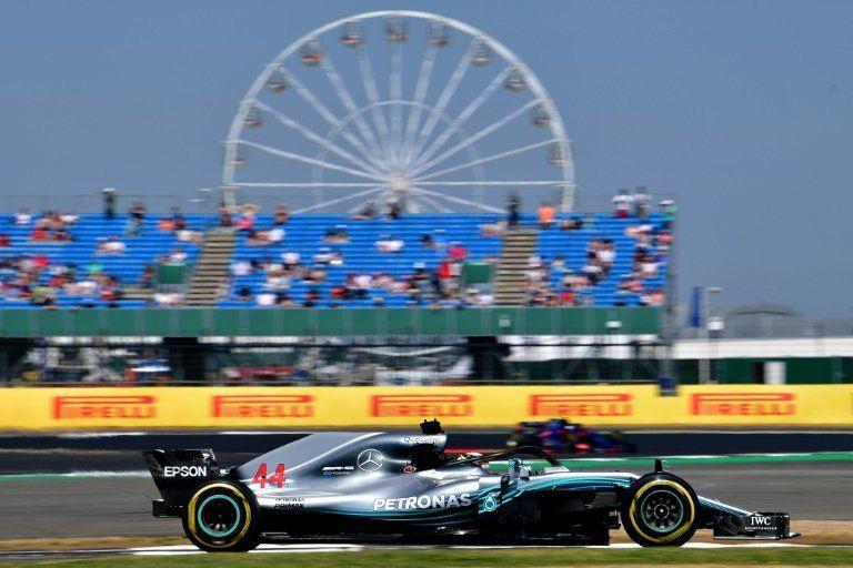 Hamilton empieza marcando la pauta en Gran Premio de Gran Bretaña