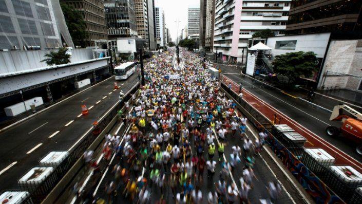 Los africanos dominan la tradicional San Silvestre de Sao Paulo