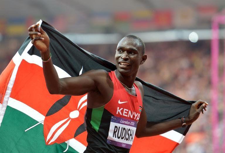 Keniano Rudisha reaparecerá en competición en reunión de Doha en mayo