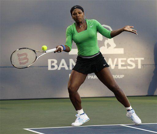 Serena Williams gana partido de retorno en Stanford