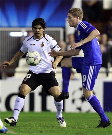 Valencia: Banega será baja 4-6 semanas por lesión