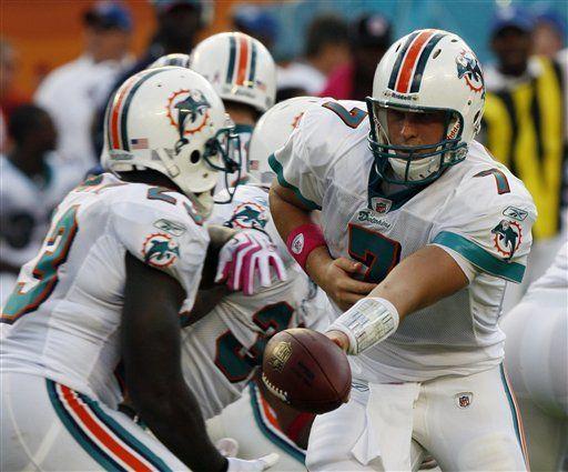 NFL: Dolphins 38, Bills 10; primer triunfo de Dolphins