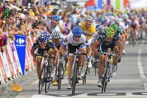 Tour: Farrar gana la tercera etapa