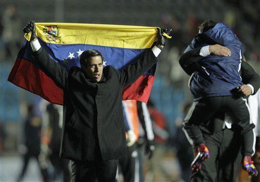 América: Victoria de la selección genera euforia en Venezuela