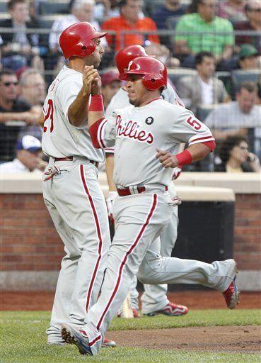 MLB: Filis 7, Mets 2; Mayberry acumula cinco remolcadas