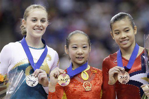 China suma tres títulos en Campeonato Mundial de Gimnasia