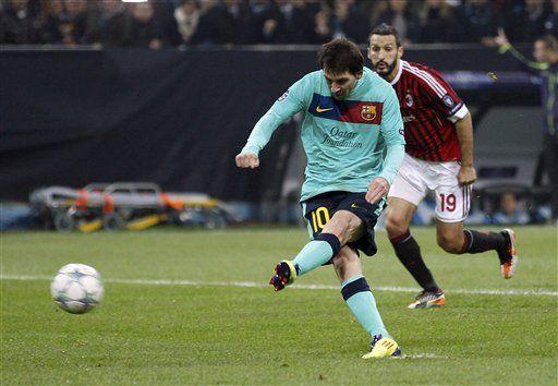 Campeones: Barcelona y Messi fulminan al Milan