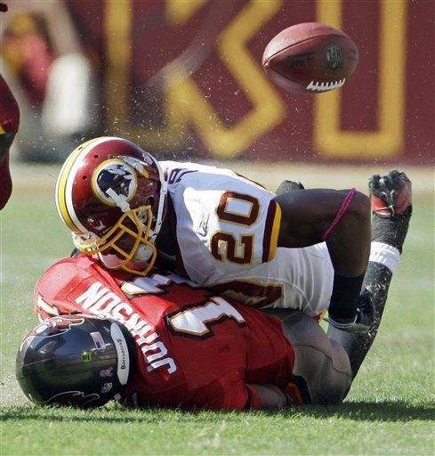 NFL: Redskins 16, Buccaneers 13; Washington culmina remontada