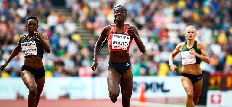 Shakima Wimbley gana los 400m  con el mejor tiempo del año