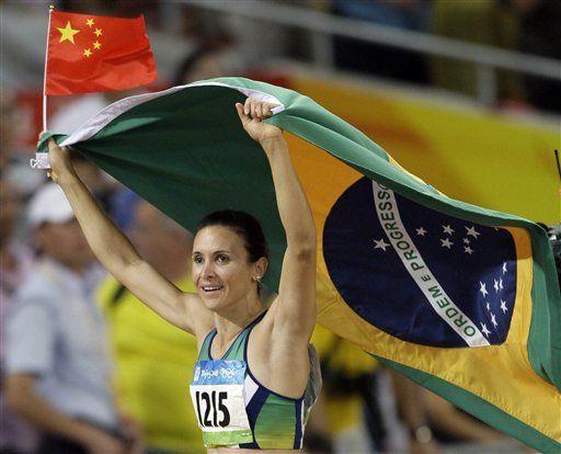 Por un centímetro, Maggi le da el segundo oro a Brasil