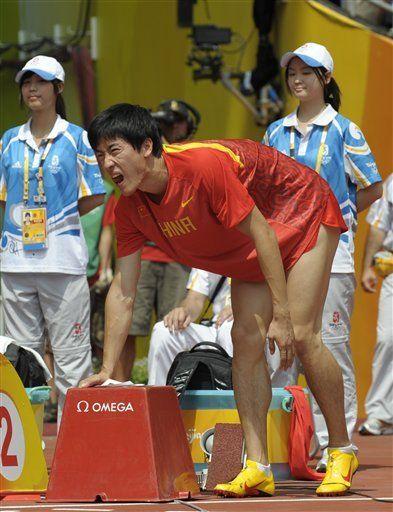 Liu se retira de los 110 metros con vallas