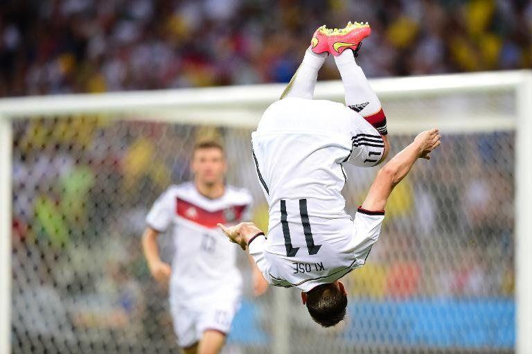 Alemania empata 2-2 con Ghana y Klose entra en la historia