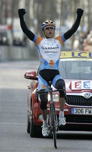 Vandevelde gana 4ta etapa de la París-Niza