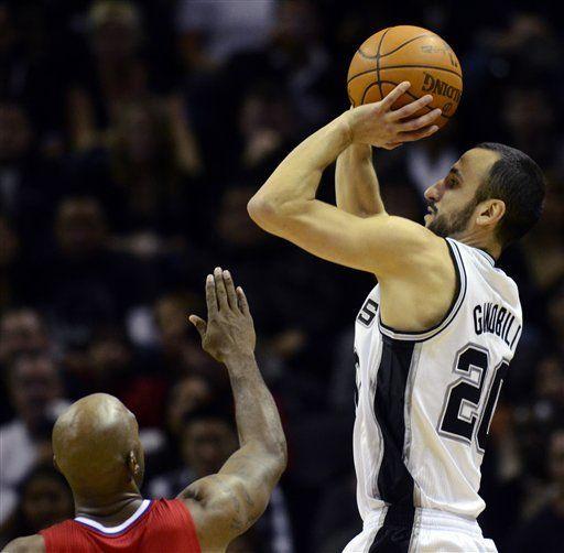 NBA: Ginóbili y Spurs opacan a Paul y a los Clippers