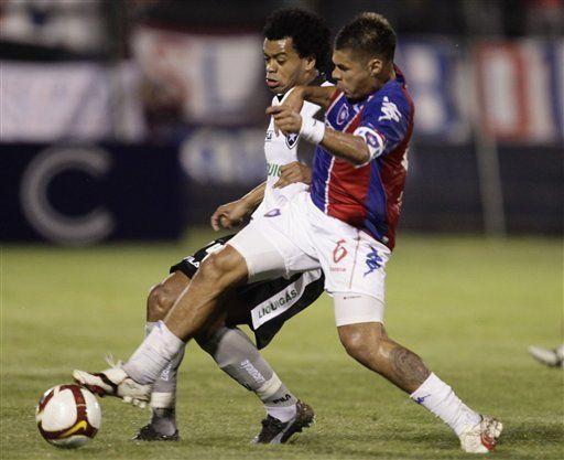 Sudamericana: Cerro Porteño vence 2-1 a Botafogo