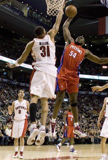 NBA: Pistons 99, Raptors 95; tiempo extra