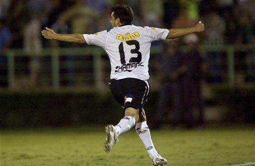 Libertadores: Colo Colo golea 3-1 al Palmeiras de visitante