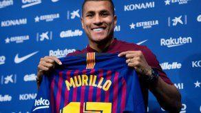 Murillo cree que el Barça es la puerta más grande que puede haber