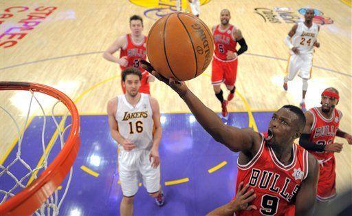 NBA: Bulls 88, Lakers 87; Chicago remonta y sorprende a Lakers