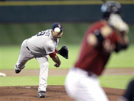MLB: Medias Rojas 2, Astros 1; Beckett poncha a 11